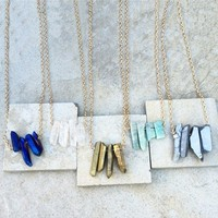 Rocky Beaches Necklace - Multiple Colors