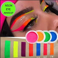 7 Colors Neon Powder Eyeshadow