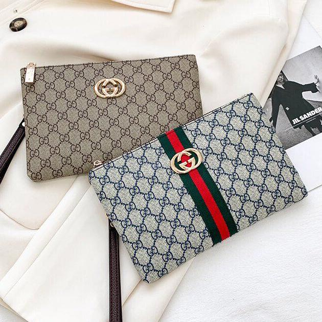 Image of Dior GG Canvas Toiletry Bag Clutch Bag