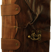 Brown Wrinkled Leather Journal 6x9