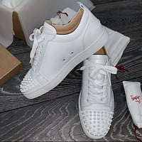 Christian Louboutin CL low top casual shoes 9/11