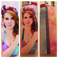 Customized Lighter with Lana Del Ray