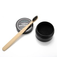 ActiveBamboo Charcoal TeethWhitening Oral Hygiene Cleaning Set Plus Toothbrush