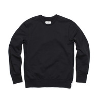 CREW NECK - BLACK | Reigning Champ