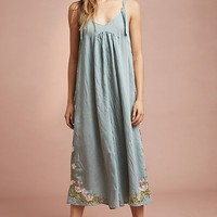 Floreat Lily Embroidered Jumpsuit