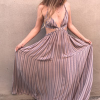 Dusty Shores Cut Out Maxi