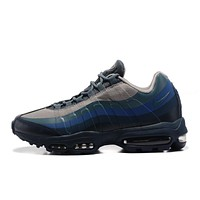 NIKE AIR MAX 95 ULTRA ESSENTIAL Gray Blue Navy