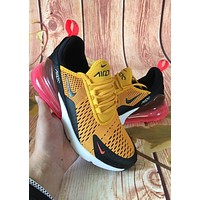Trendsetter Nike Id Worldcup Air 270  Women Men Fashion Casual  Sneakers Sport Shoes