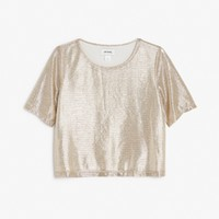 Monki | Not here for your approval | Ariel top