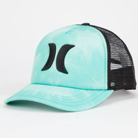 Hurley One & Only Womens Trucker Hat Turquoise One Size For Women 25111724101