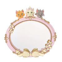 The Aristocats Stand Mirror Lovely ❤ Disney Store Japan Marie Toulouse Berlioz