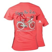 Southern Couture Enjoy the Ride Bike T-Shirt