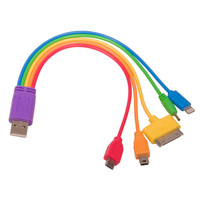 Rainbow 5-in-1 USB Adaptor Cable