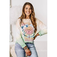 Bring On The Sunshine Long Sleeve Graphic Top