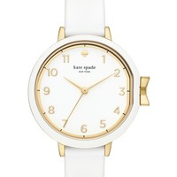 kate spade new york park row silicone strap watch, 34mm | Nordstrom