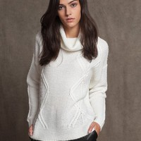 High neck tricot jersey - KNITWEAR - WOMAN | Stradivarius Republic of Ireland