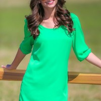 Candied Confection Shift Tunic-Apple
