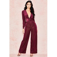 Rogers Celebrity Style Rose Jumpsuit