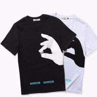 OFF WHITE Finger Printed T shirt