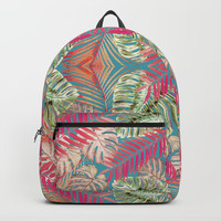 Summer Jungle Love Backpacks by ALLY COXON