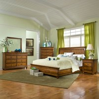 Klaussner Palais 5-Piece Bedroom Set in Brown