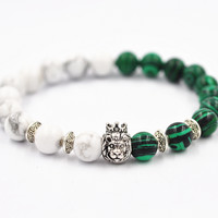 Great Deal Stylish New Arrival Gift Awesome Shiny Hot Sale Crown Turquoise Bracelet [4970306436]