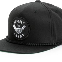 Imperial Motion Patchwork Support The Enemy Snapback Hat