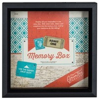 "8"" x 8"" Black Shadow Memory Box 