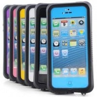 iPhone 5C- Waterproof, Dirtproof, Snowproof, Shockproof Case (Blue)