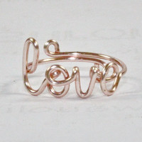 Rose Pink Love Ring