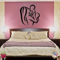 Vinyl Decal Wall Stickers Mother And Baby Child Infant For Bedroom Unique Gift (z1606)