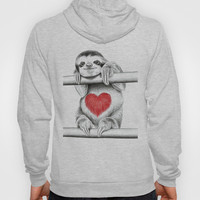 If Care Bears were sloths... Hoody by 13 Styx