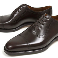 Handmade mens style Oxford shoes, Men black formal leather shoes, Shoes for men