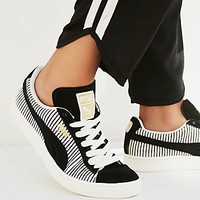 Puma Womens Classic Stripes Trainer