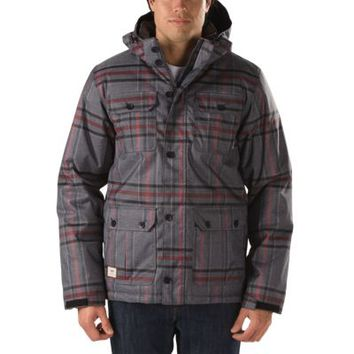 Vans Mixter II Jacket (New Charcoal Heather Plaid)
