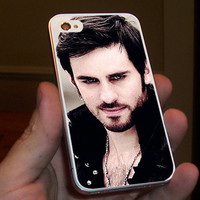 Once Upon a Time Captain Hook Believe for iPhone 4/4S, 5/5S and 5C case.