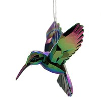 Holiday Ornaments HUMMINGBIRD. Plastic Bird Nectar Christmas T1509 A