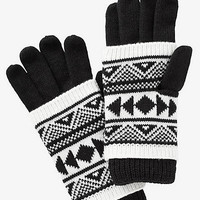 AZTEC TWO PIECE GLOVES from EXPRESS
