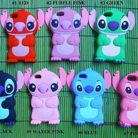 1X USA SOFT STITCH HERO 626 SUPPER CUTE COLOR IPHONE 5 CASE COVER FREE SCREEN