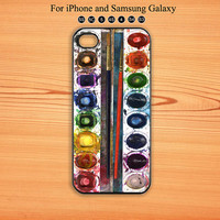 Water Color Paint Set,iphone 5 case,iPhone 5C Case,iPhone 5S Case, Phone case,iPhone 4 Case, iPhone 4S Case,Galaxy Samsung S3, S4