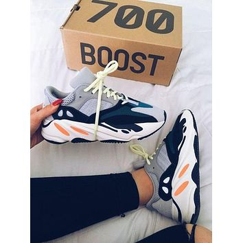 Yeezy 700 Adidas Runner Boost Classic Popular Couple Casual Running Sport Shoes 1#