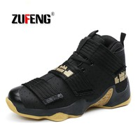 Men's Professional Basketball Shoes Lebron Shoes Original Sports Shoes Stable Support Size 36-45 Men Star Sneakers Ball Super