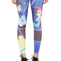 Disney The Little Mermaid Ariel And Eric Leggings | Hot Topic