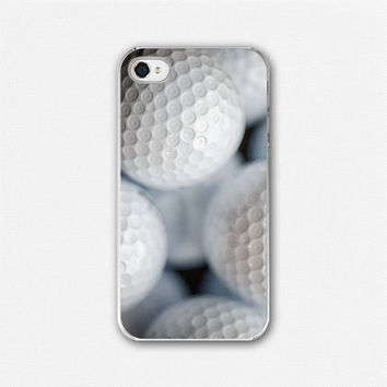 Golf Balls iPhone Case Golfing Gift iPhone by LisaRussoFineArt