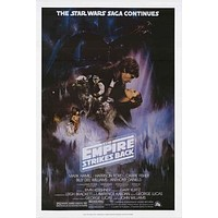 Star Wars Episode V Empire Strikes Back Poster 24x36