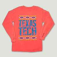 California Southwest Coral Long Sleeve