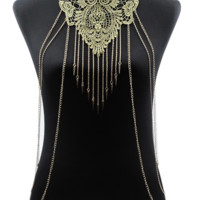 Golden Lace Body Chain
