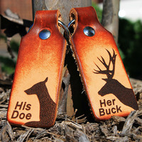 Buck & Doe Keychains