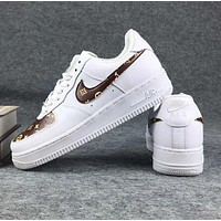 NIKE Air LV Foce Men Running Sport Casual Shoes Sneakers Air force White G-CSXY-1
