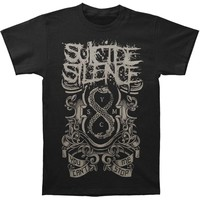 Suicide Silence Men's  You Can't Stop Me T-shirt Black